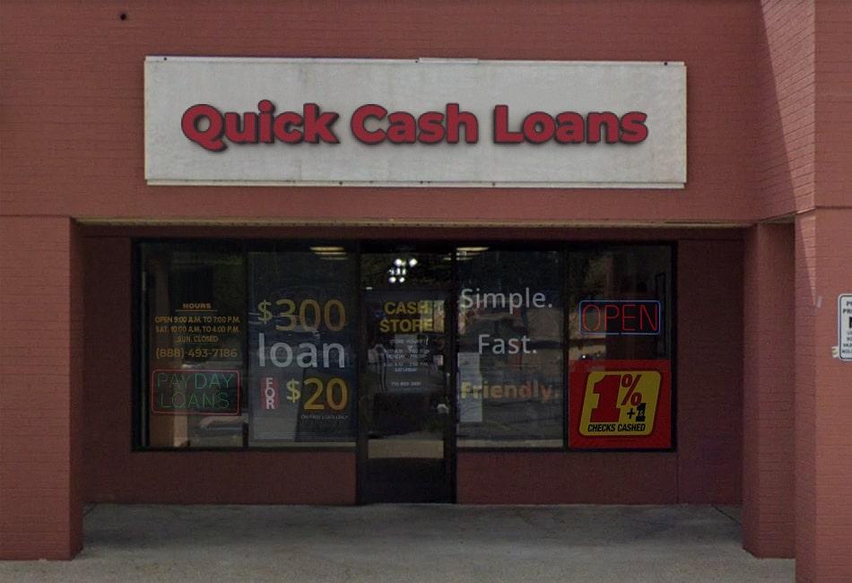 in-store loan Kentucky, QuickCashLoansWow